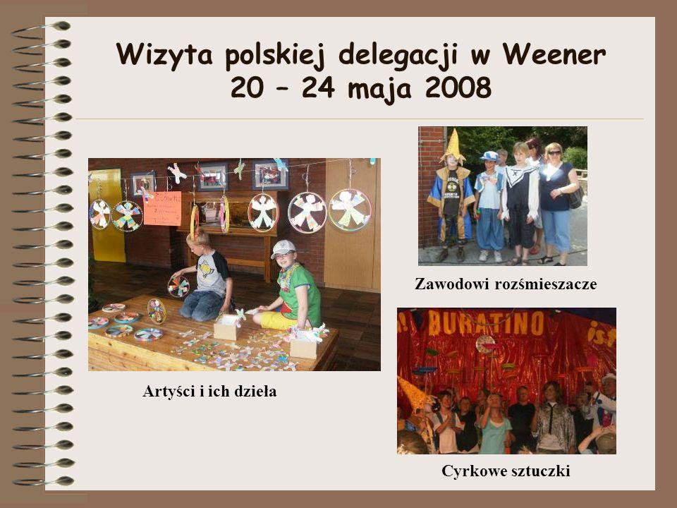 Wizyta polskiej delegacji w Weener 20 – 24 maja 2008