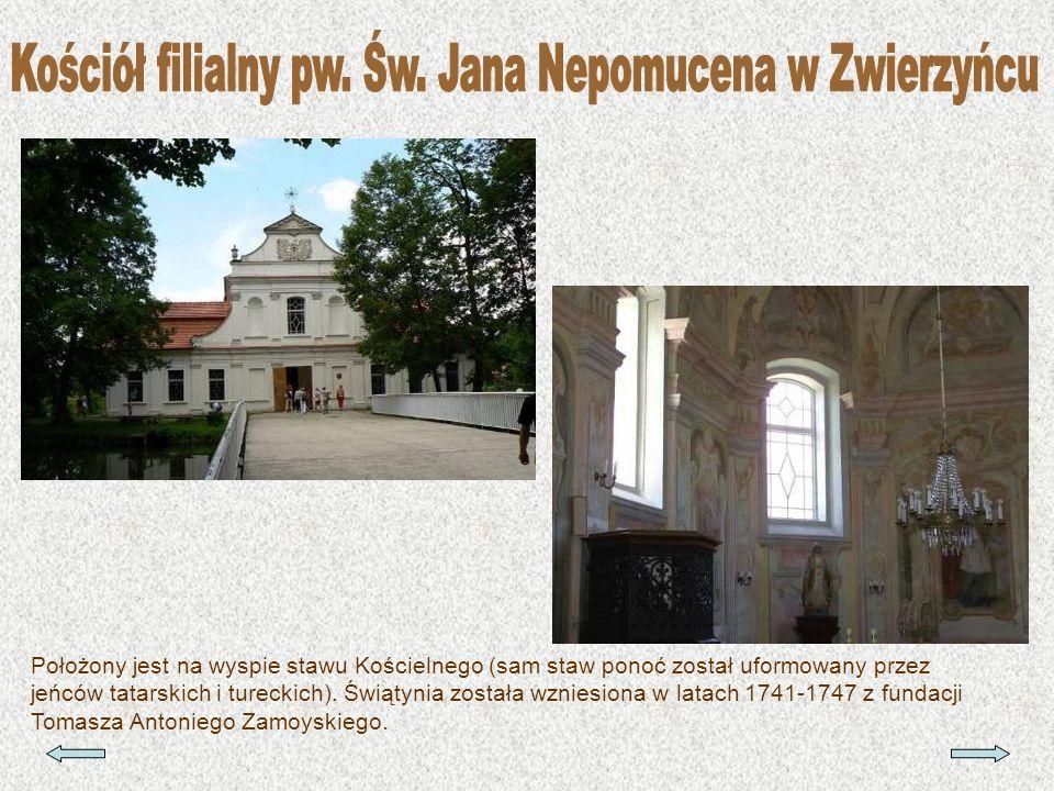 Kościół filialny pw. Św. Jana Nepomucena w Zwierzyńcu