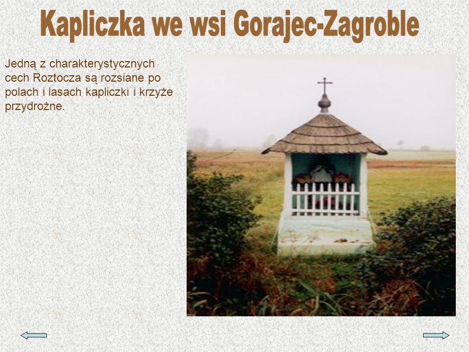 Kapliczka we wsi Gorajec-Zagroble