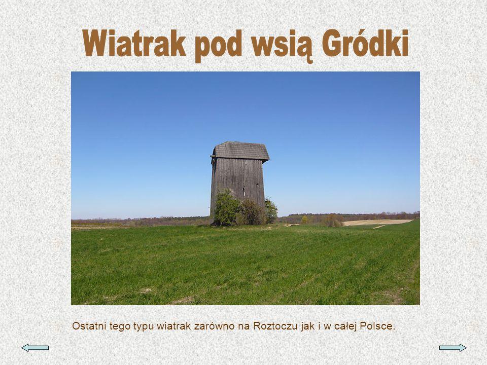 Wiatrak pod wsią Gródki