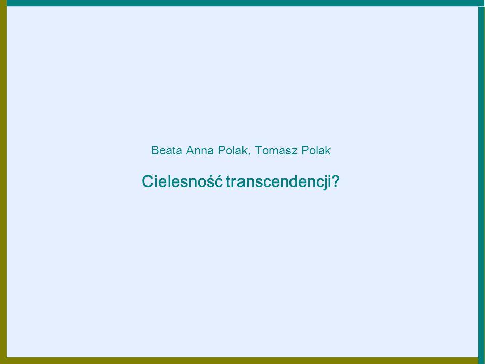 Cielesność transcendencji