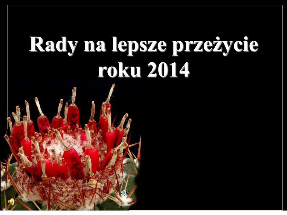 Rady na lepsze przeżycie roku 2014