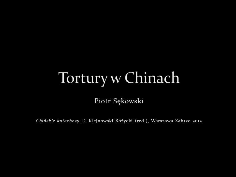 Chińskie katechezy, D. Klejnowski-Różycki (red.), Warszawa-Zabrze 2012