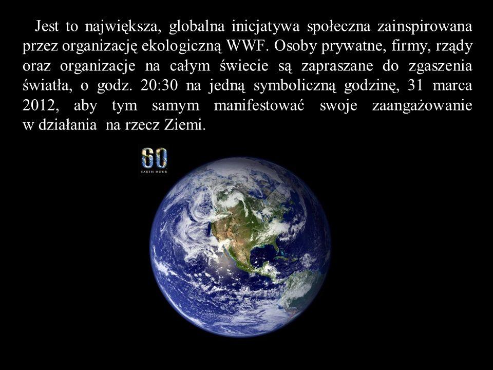 Jest to największa, globalna inicjatywa społeczna zainspirowana przez organizację ekologiczną WWF.