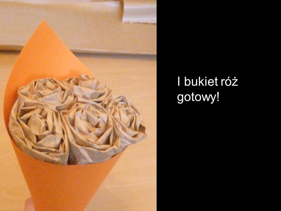 I bukiet róż gotowy!