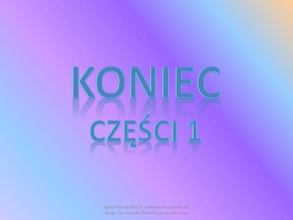 KONIEC CZĘŚCI 1.