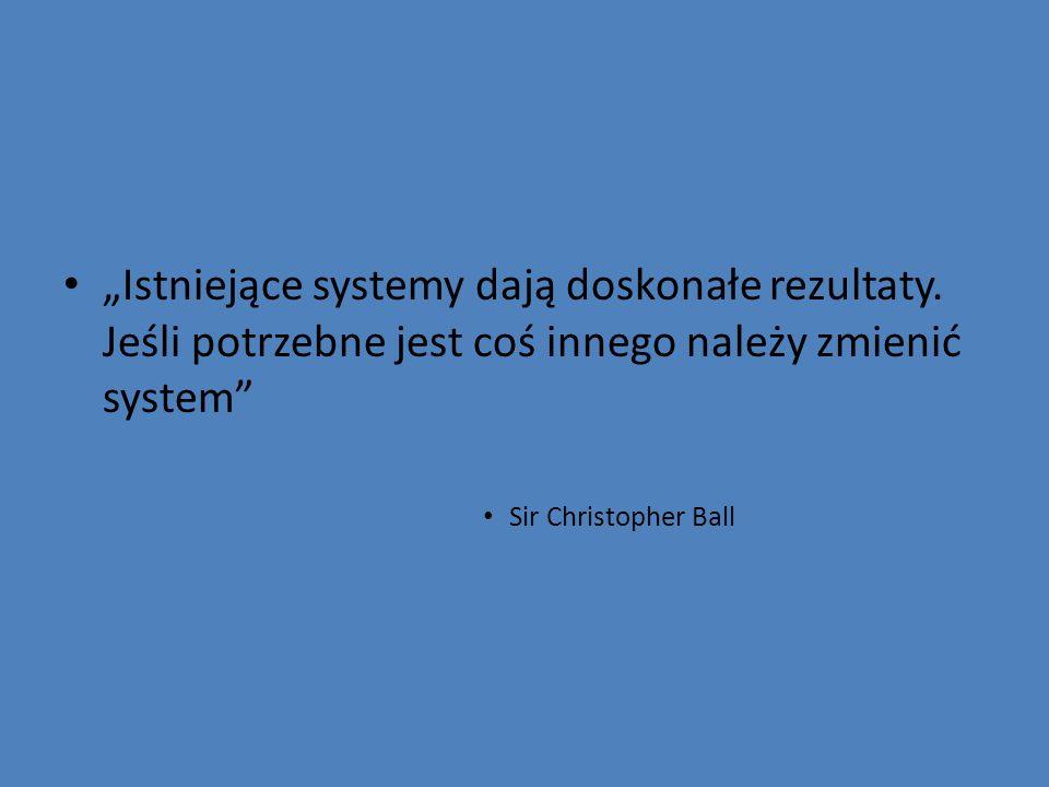 """""""Istniejące systemy dają doskonałe rezultaty"""