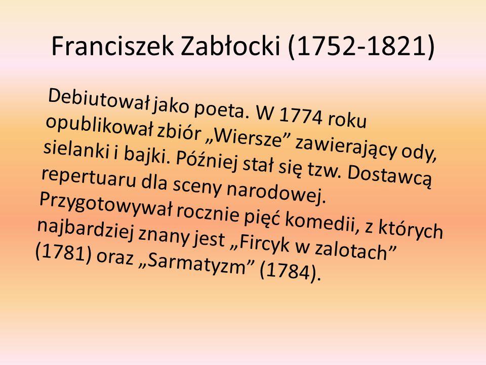 Franciszek Zabłocki (1752-1821)