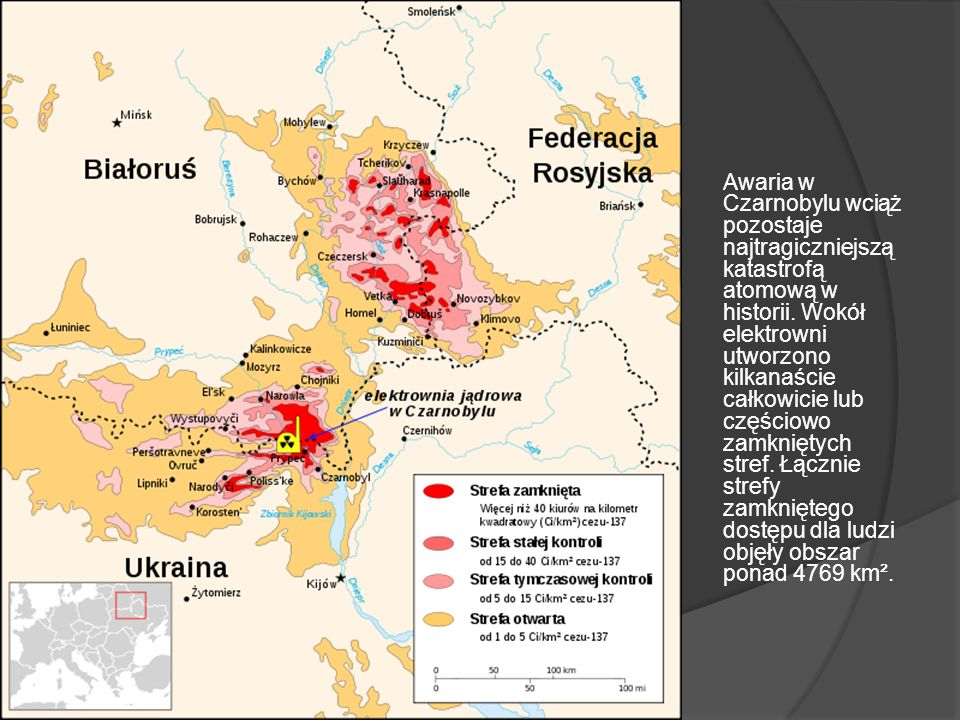 Awaria w Czarnobylu wciąż pozostaje najtragiczniejszą katastrofą atomową w historii.