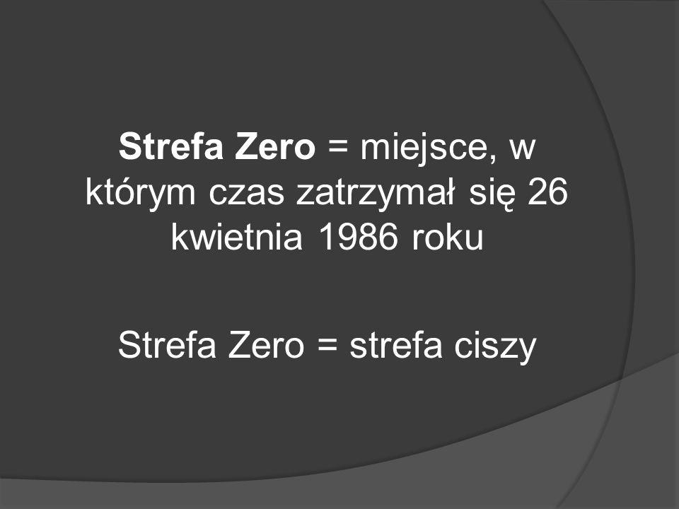 Strefa Zero = strefa ciszy
