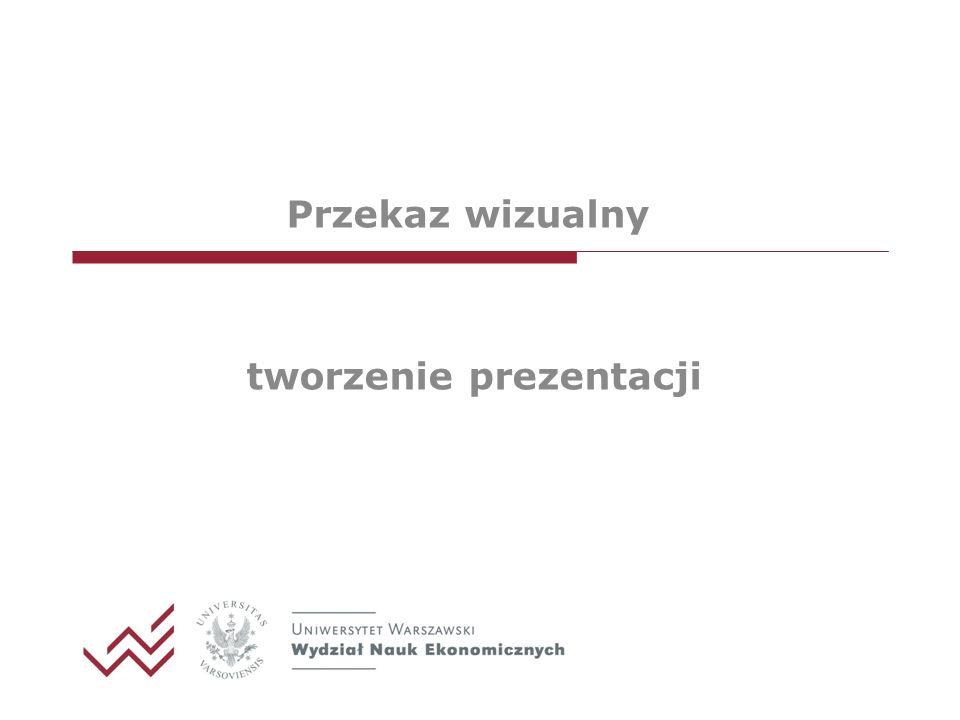 Przekaz wizualny tworzenie prezentacji