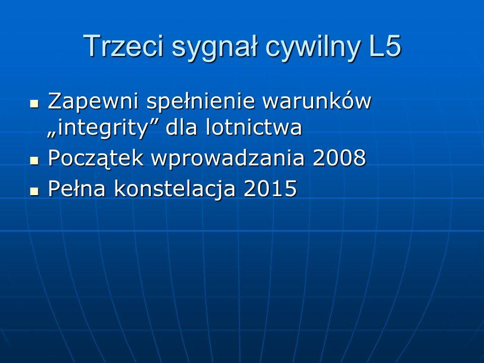 Trzeci sygnał cywilny L5