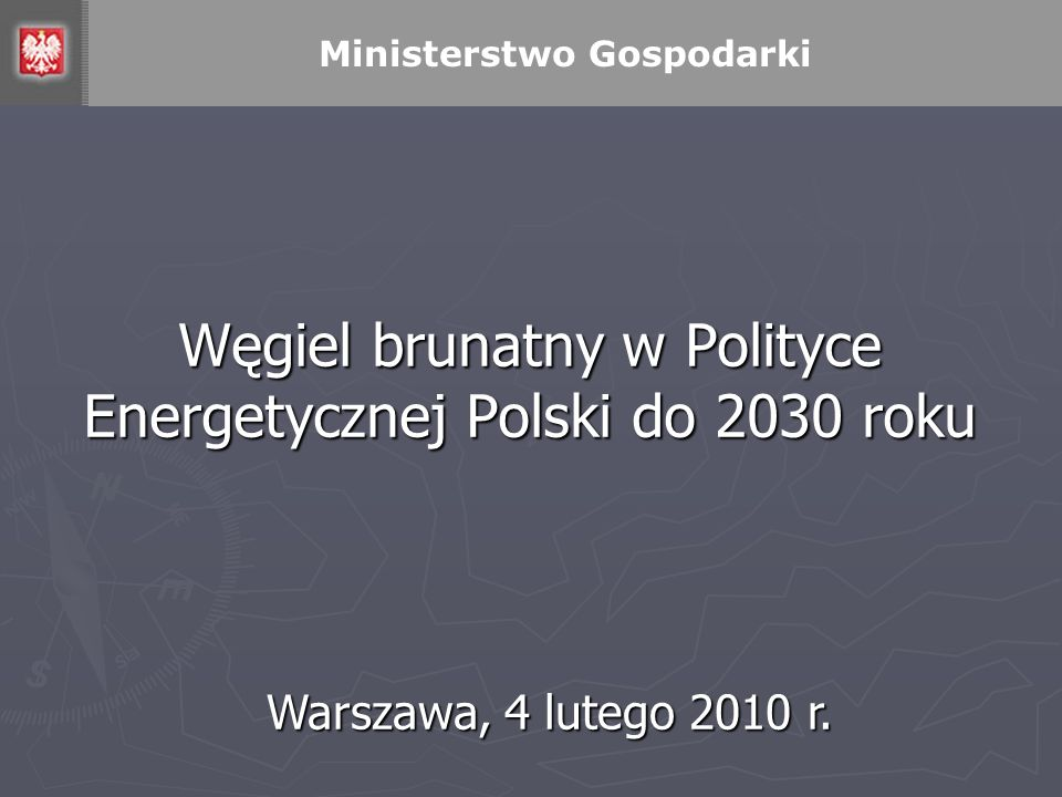 Węgiel brunatny w Polityce Energetycznej Polski do 2030 roku