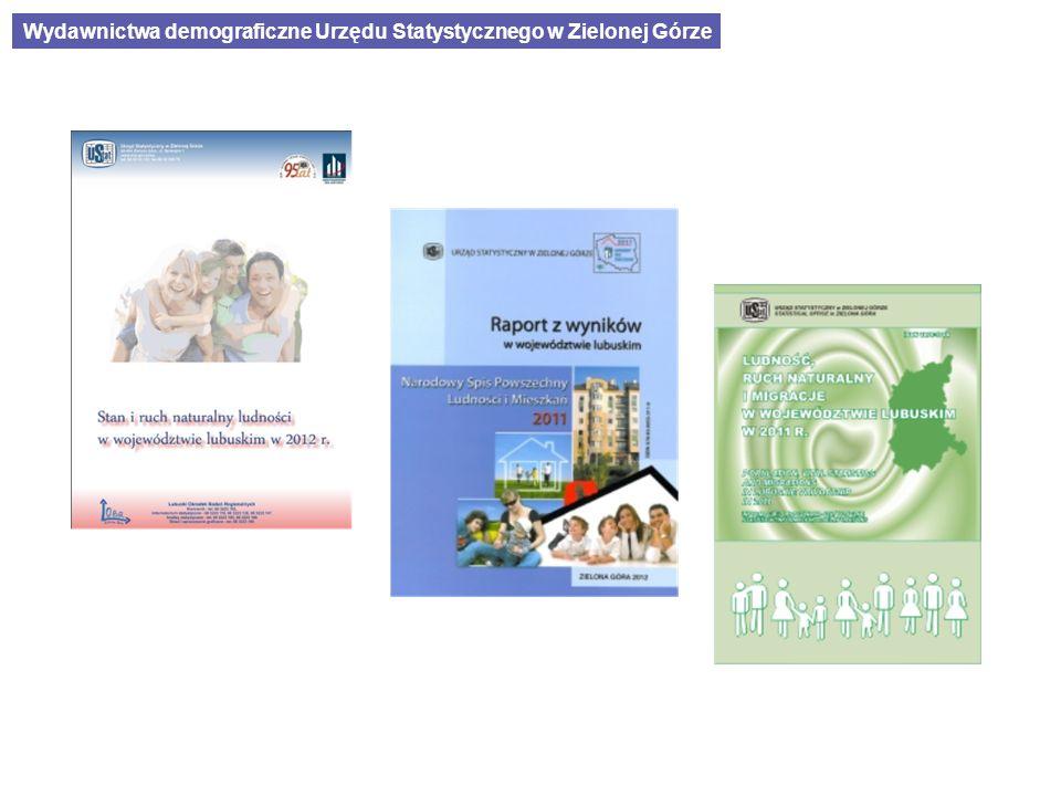 Wydawnictwa demograficzne Urzędu Statystycznego w Zielonej Górze