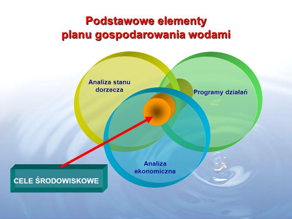 Podstawowe elementy planu gospodarowania wodami