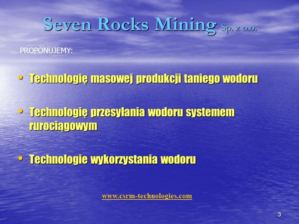 Seven Rocks Mining Sp. z o.o.