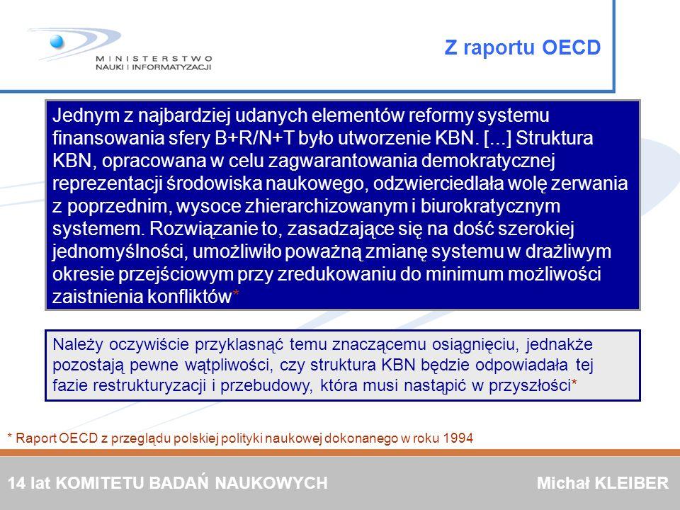 Z raportu OECD
