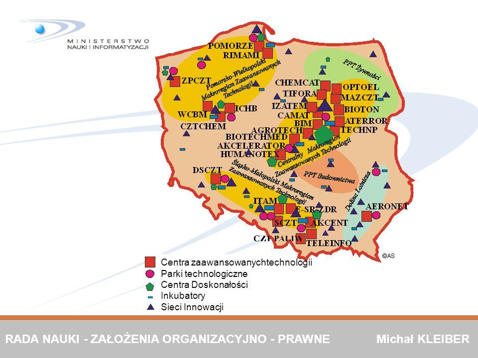 RADA NAUKI - ZAŁOŻENIA ORGANIZACYJNO - PRAWNE Michał KLEIBER