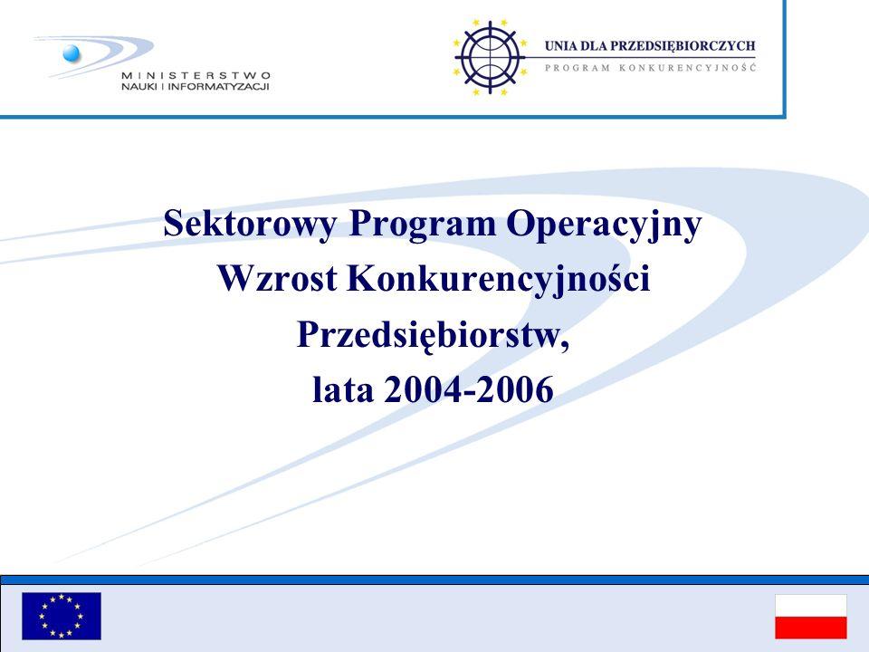 Sektorowy Program Operacyjny Wzrost Konkurencyjności