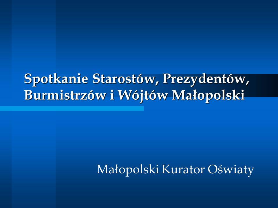 Spotkanie Starostów, Prezydentów, Burmistrzów i Wójtów Małopolski