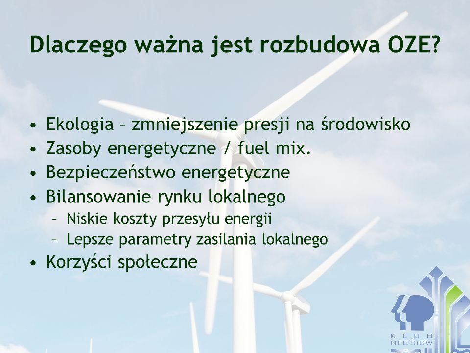 Dlaczego ważna jest rozbudowa OZE