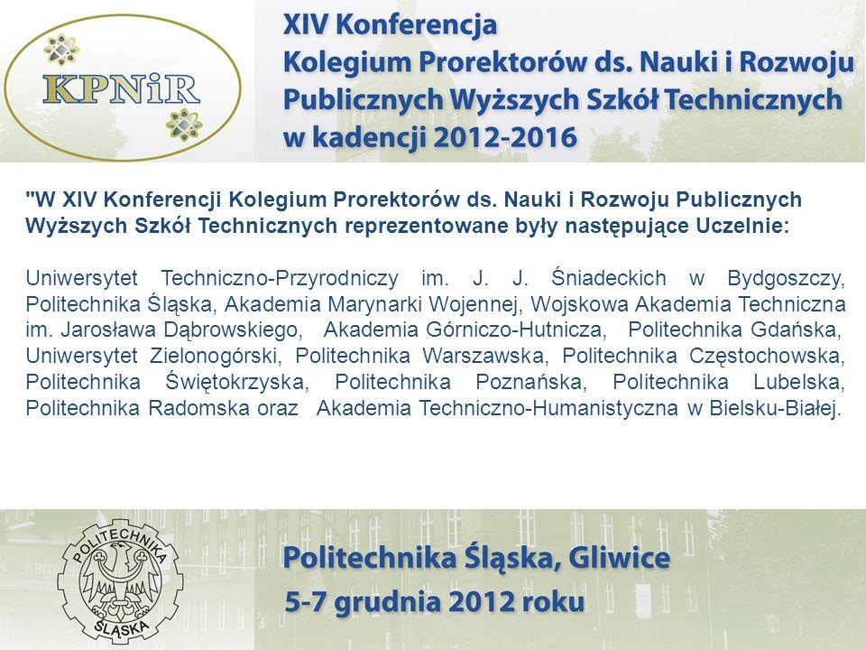 W XIV Konferencji Kolegium Prorektorów ds