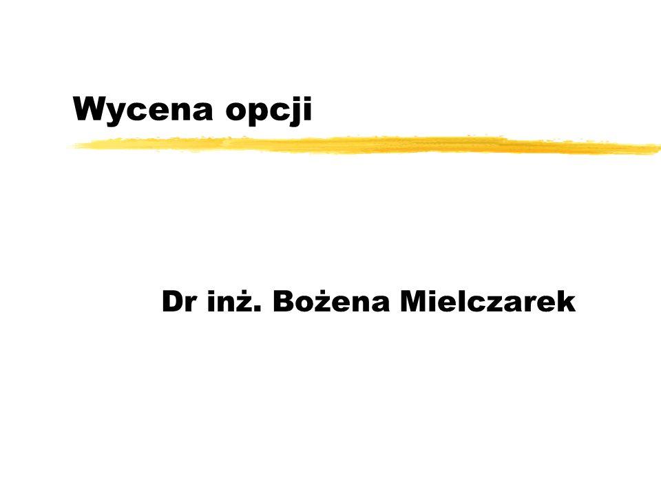 Dr inż. Bożena Mielczarek