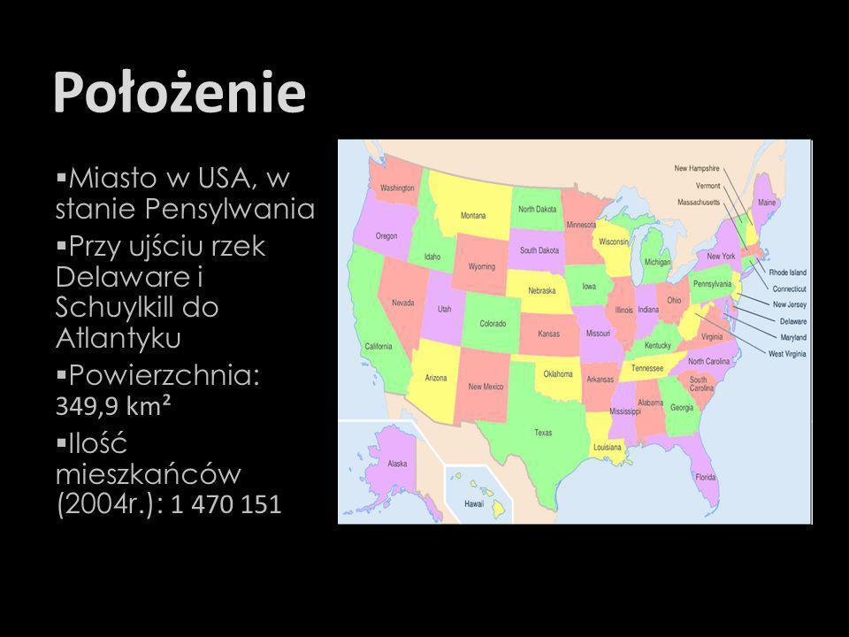 Położenie Miasto w USA, w stanie Pensylwania