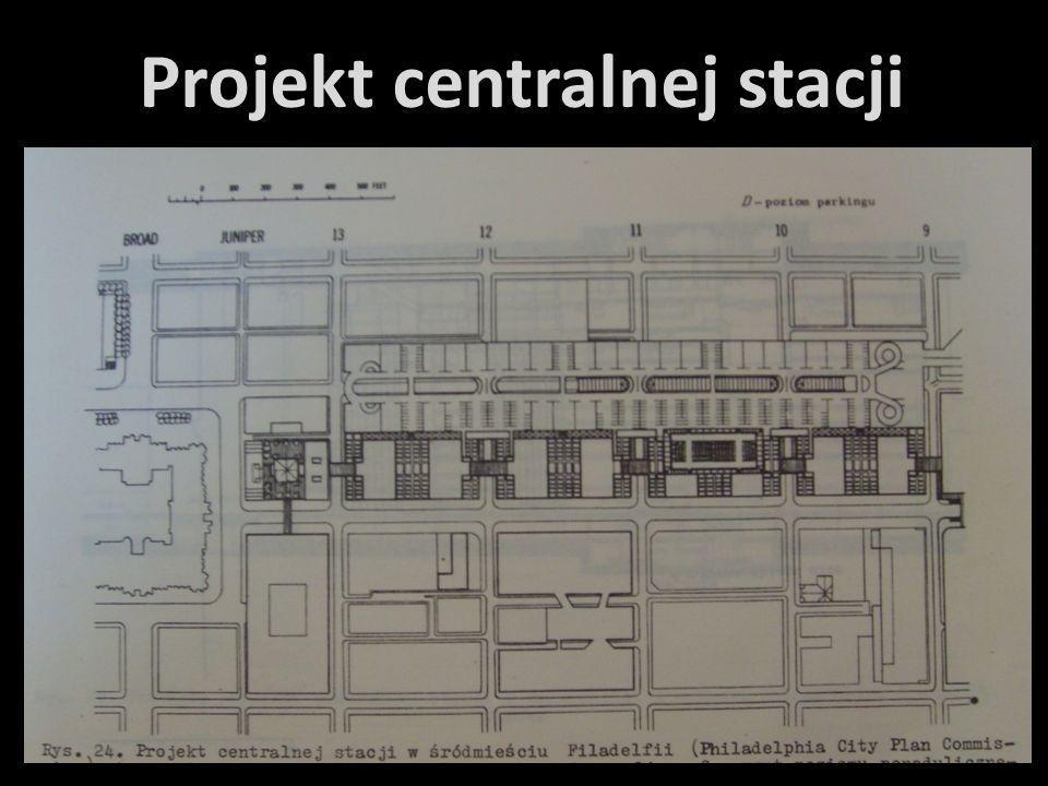 Projekt centralnej stacji