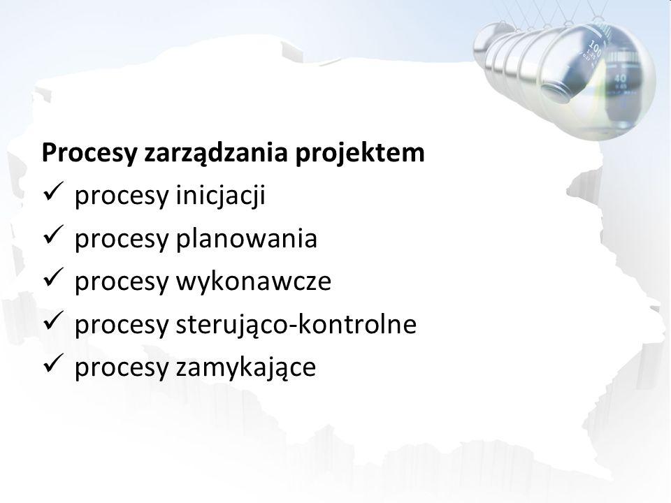 Procesy zarządzania projektem