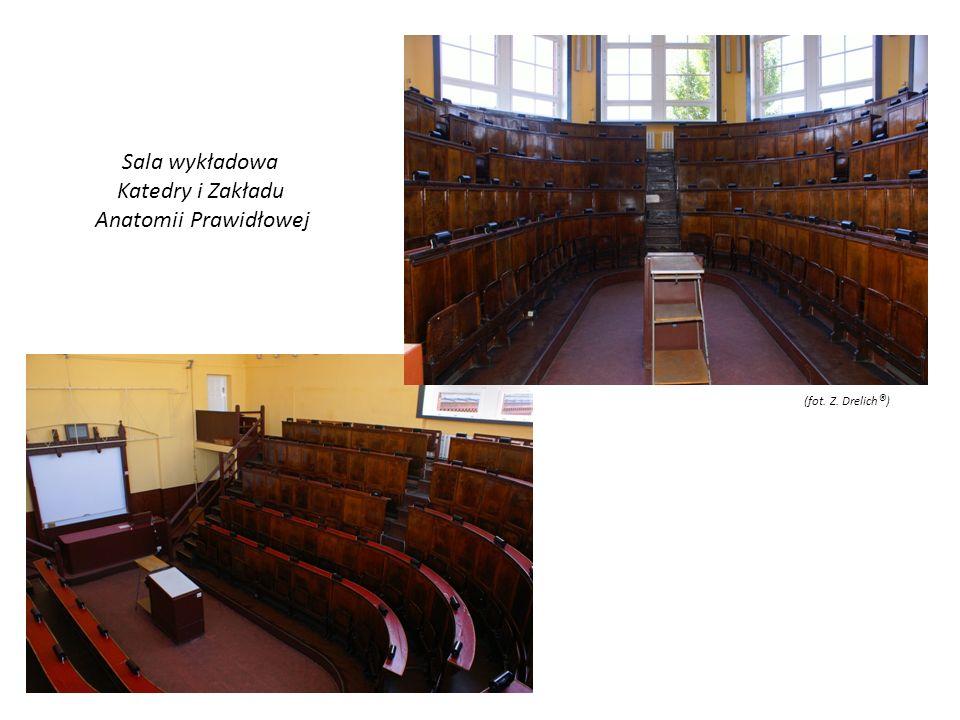 Sala wykładowa Katedry i Zakładu Anatomii Prawidłowej