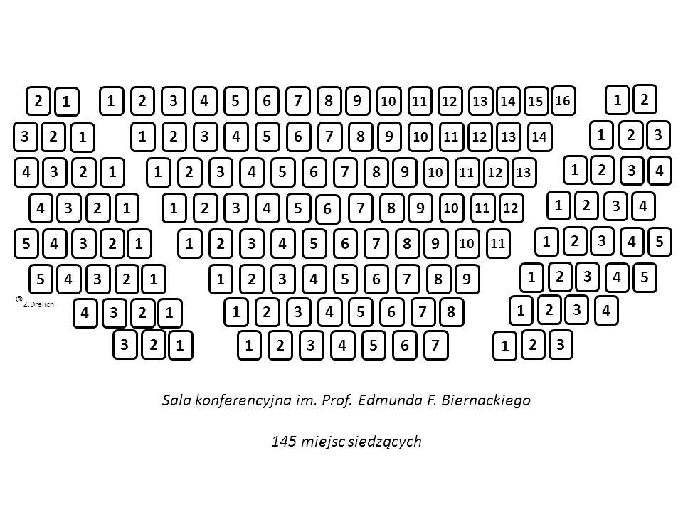 Sala konferencyjna im. Prof. Edmunda F. Biernackiego