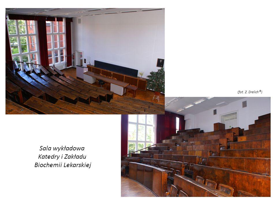 Sala wykładowa Katedry i Zakładu Biochemii Lekarskiej