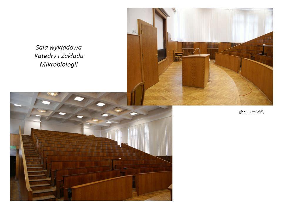 Sala wykładowa Katedry i Zakładu Mikrobiologii (fot. Z. Drelich®)