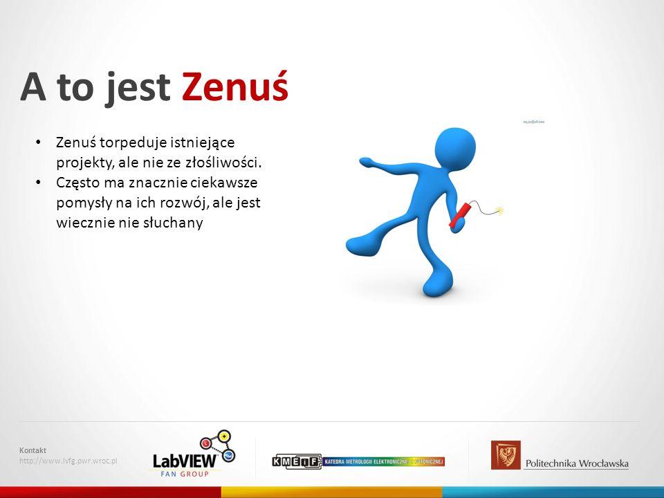 A to jest Zenuś Zenuś torpeduje istniejące projekty, ale nie ze złośliwości.