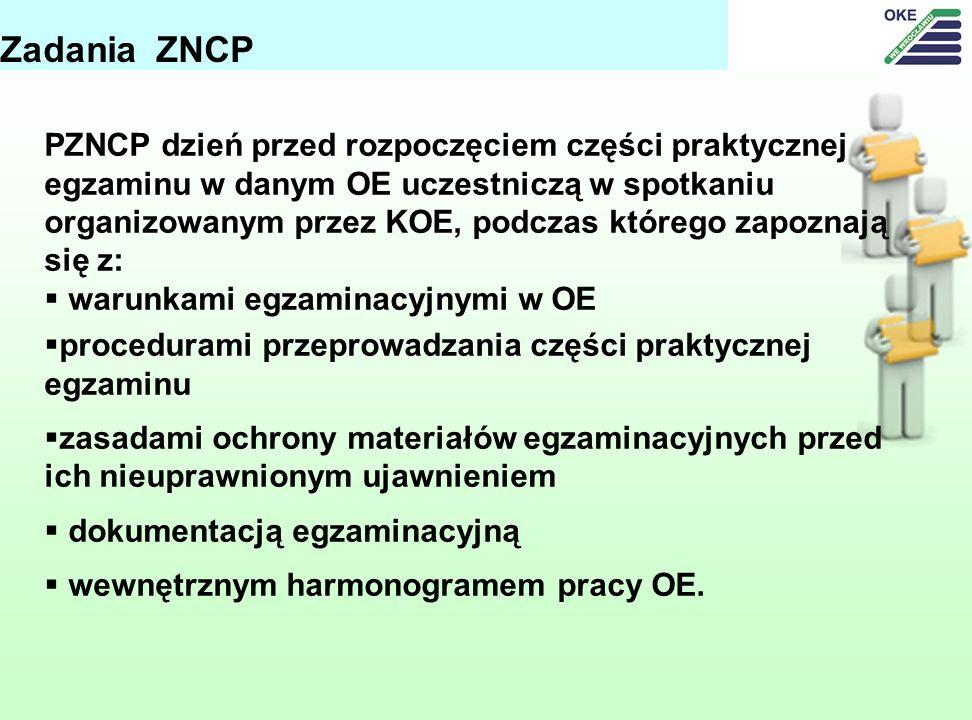 Zadania ZNCP