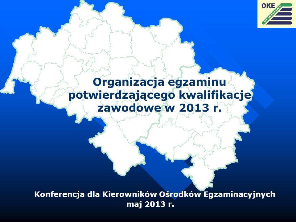 Konferencja dla Kierowników Ośrodków Egzaminacyjnych