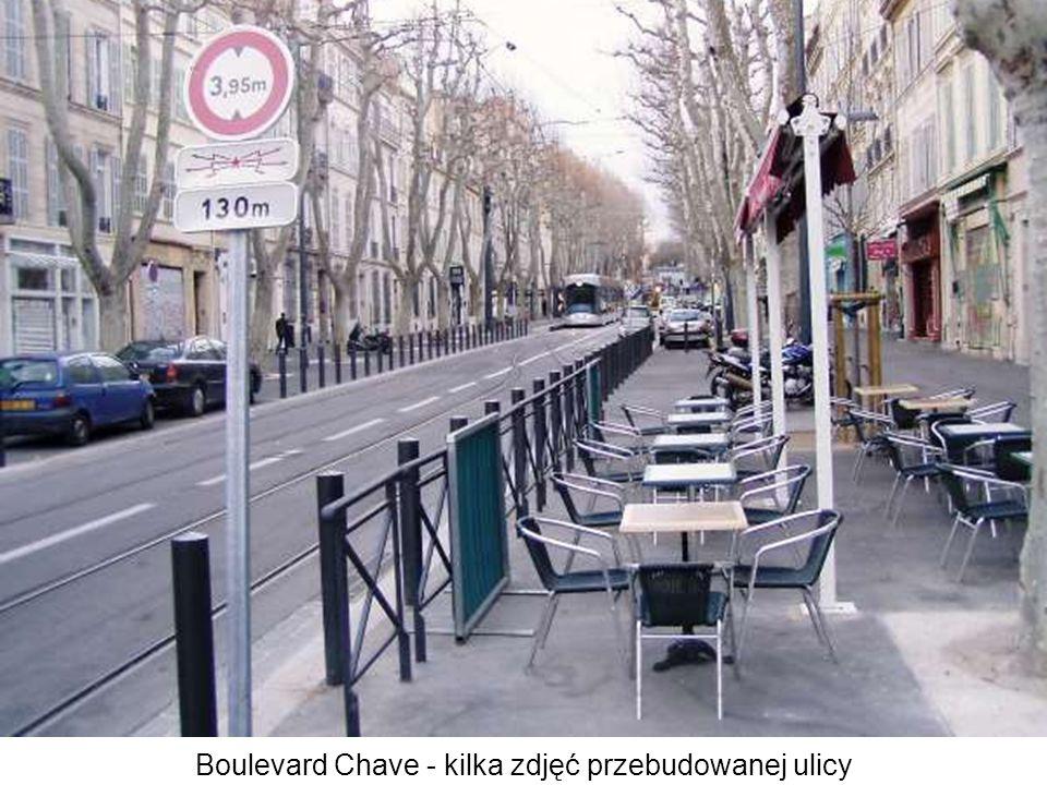Boulevard Chave - kilka zdjęć przebudowanej ulicy