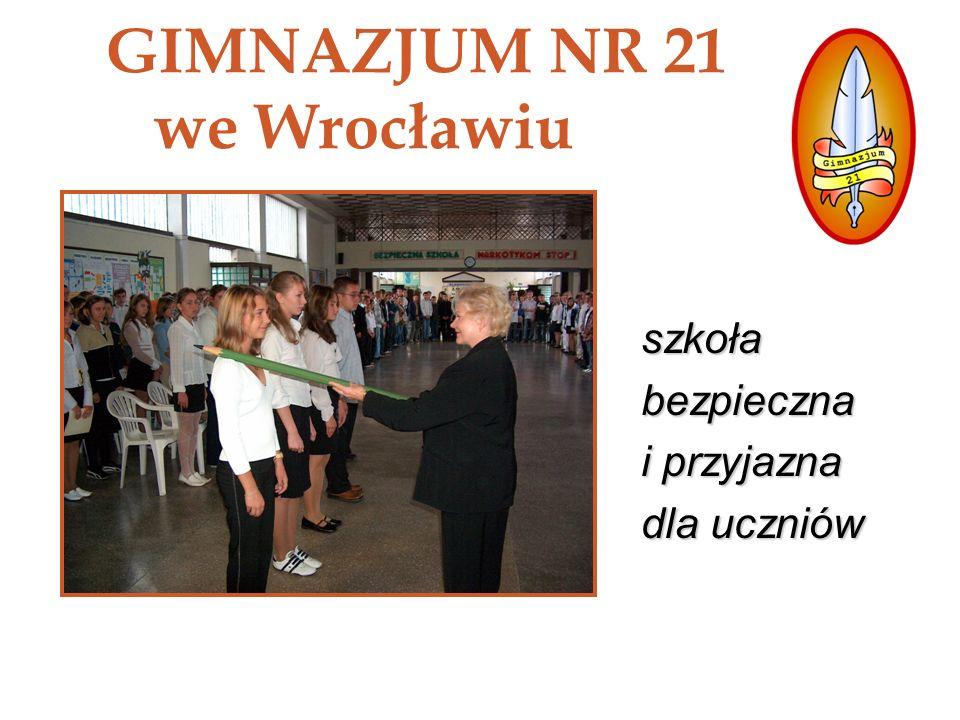 GIMNAZJUM NR 21 we Wrocławiu
