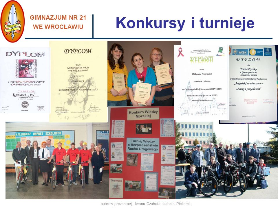 autorzy prezentacji: Iwona Czubata, Izabela Piekarek