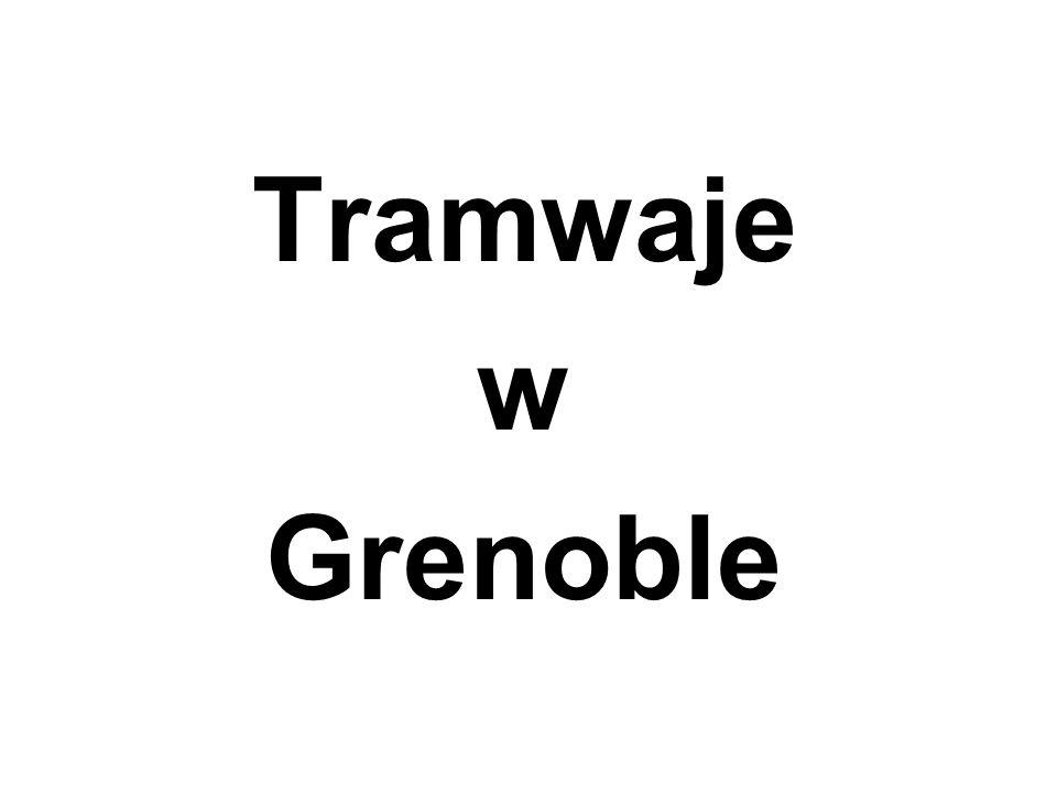 Tramwaje w Grenoble
