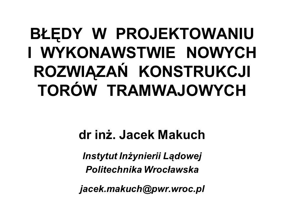 Instytut Inżynierii Lądowej Politechnika Wrocławska