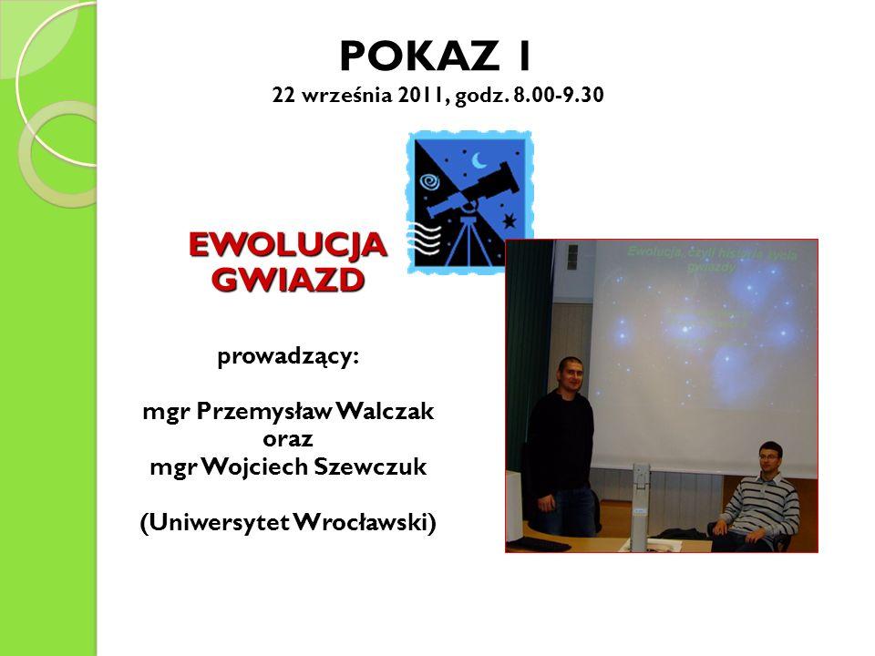 mgr Przemysław Walczak (Uniwersytet Wrocławski)