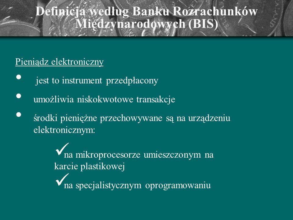 Definicja według Banku Rozrachunków Międzynarodowych (BIS)