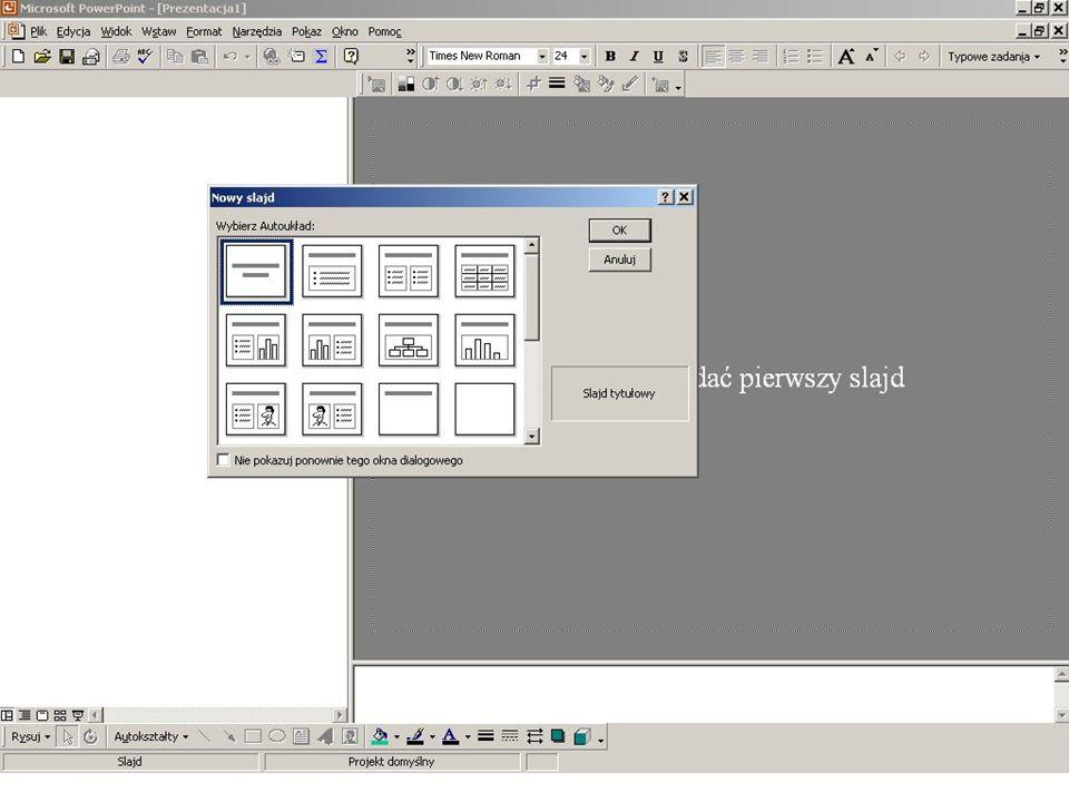 Tak PowerPoint uruchamia się bez okna dialogowego PowerPoint