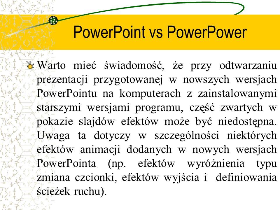 PowerPoint vs PowerPower