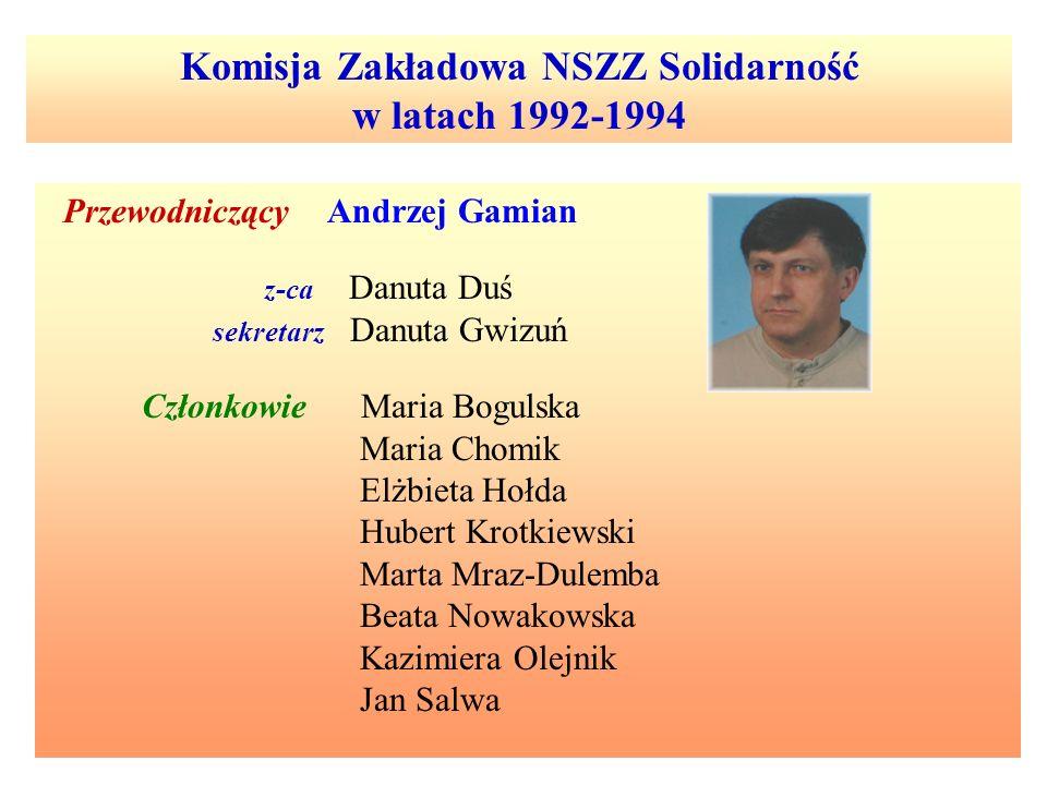 Komisja Zakładowa NSZZ Solidarność