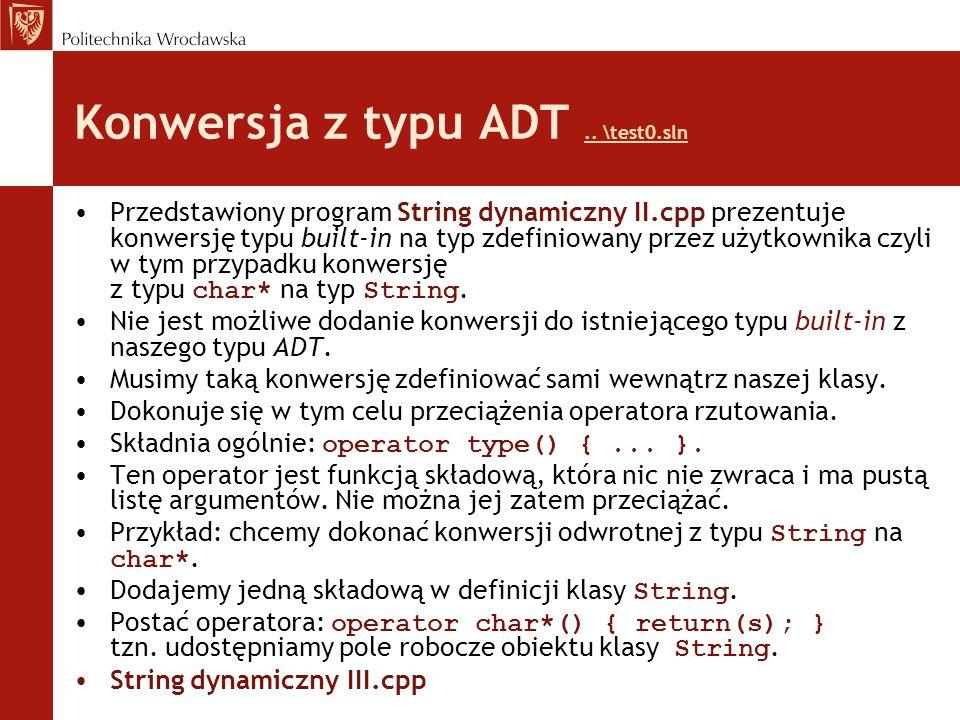 Konwersja z typu ADT .. \test0.sln