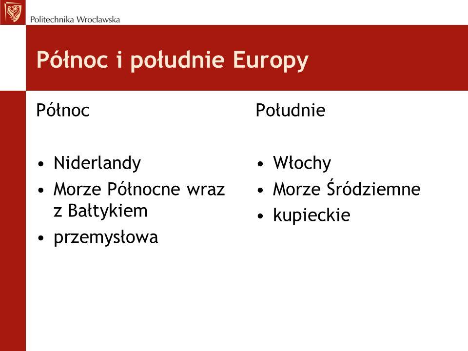 Północ i południe Europy