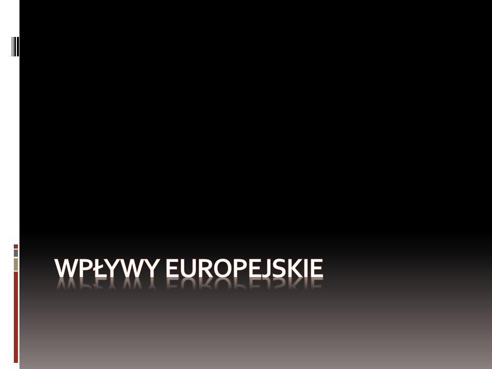 Wpływy europejskie